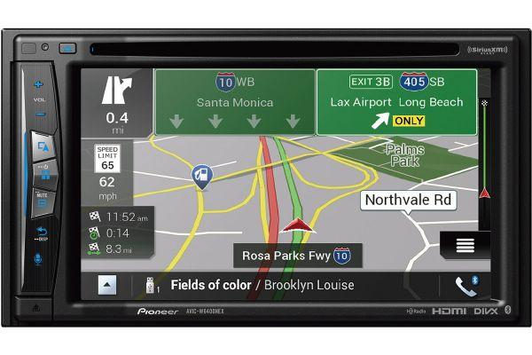 "Pioneer 6.2"" In-Dash Navigation AV Receiver - AVIC-W6400NEX"