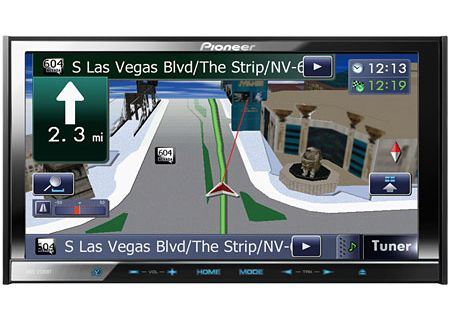 Pioneer - AVIC-Z140BH - Portable GPS Navigation