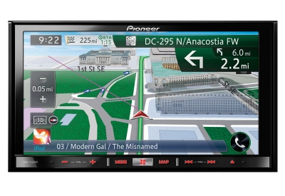 Pioneer - AVIC-Z150BH - Portable GPS Navigation