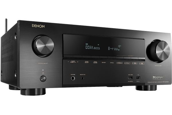 Denon 7.2 Channel Full 4K Ultra HD AV Receiver With Amazon Alexa Voice Control - AVR-X2500H