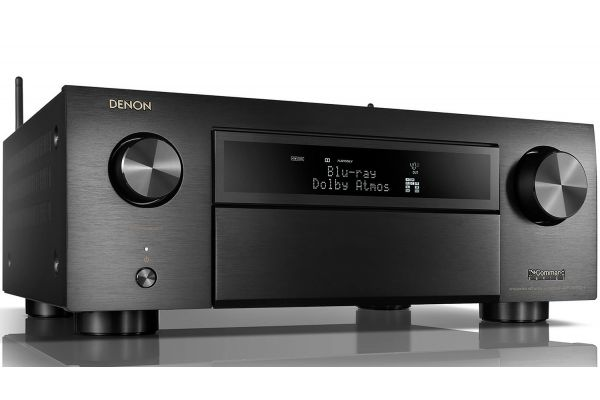 Denon 11.2 Ch. 4K AV Receiver with 3D Audio and Amazon Alexa Voice Control - AVRX6500H