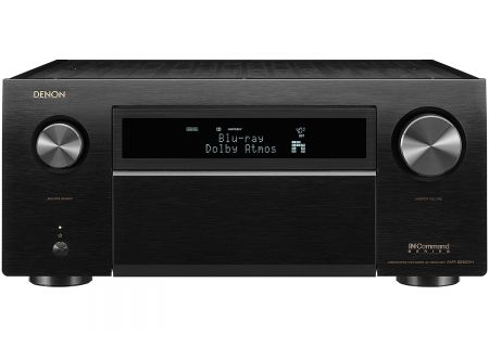 Denon 13.2 Channel Black 4K Ultra HD AV Receiver With Built-In HEOS - AVR-X8500HBK