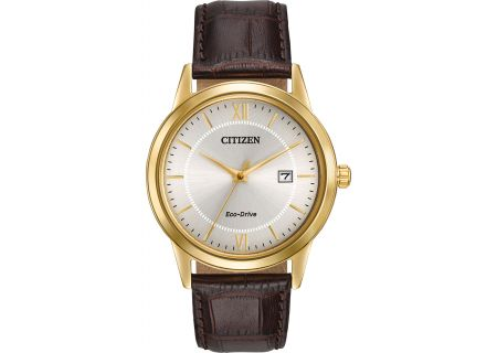 Citizen Eco-Drive Gold 40mm Mens Watch  - AW1232-04A