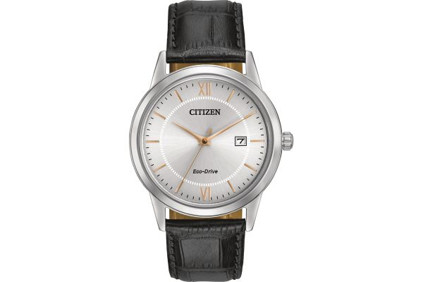 Citizen Eco-Drive Stainless Steel 40mm Mens Watch  - AW1236-03A