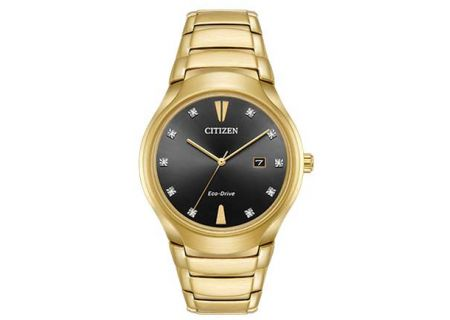 Citizen Eco-Drive Paradigm Gold Tone Mens Watch - AW1552-54E