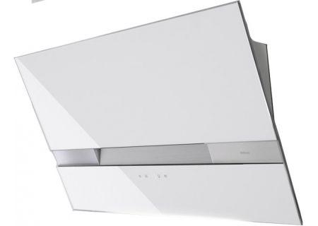 "Zephyr 36"" Wave White Wall Hood - AWAM90AWX"