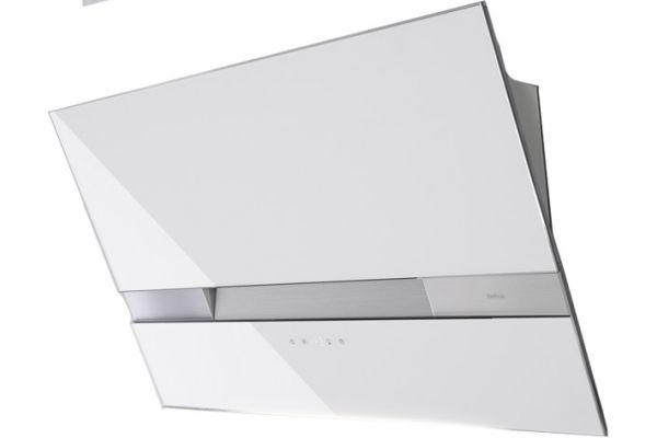"Large image of Zephyr 36"" Wave White Wall Hood - AWAM90AWX"