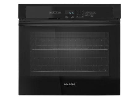 "Amana 5.0 Cu. Ft. Black 30"" Single Electric Wall Oven  - AWO6313SFB"