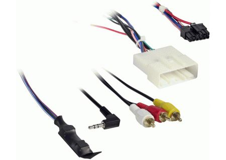 Metra Nissan With NAV 2011-Up Harness With 6v Converter - AX-NIS24SWC6V