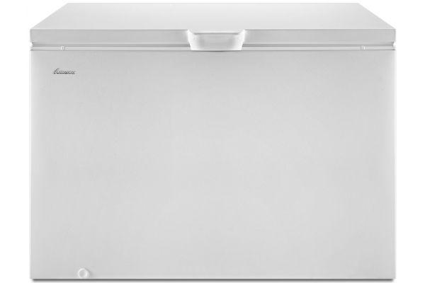Large image of Amana White 15 Cu. Ft. Chest Freezer - AZC31T15DW