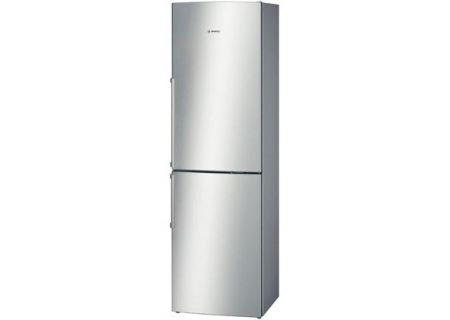 "Bosch 24"" 500 Series Stainless Steel Counter-Depth Bottom-Freezer Refrigerator  - B11CB50SSS"