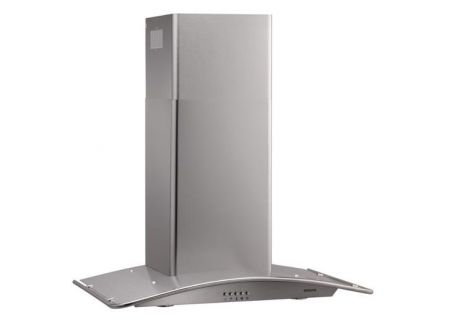 "Broan Arched 29-1/2""  Stainless Steel Chimney Wall Hood - B5730SS"