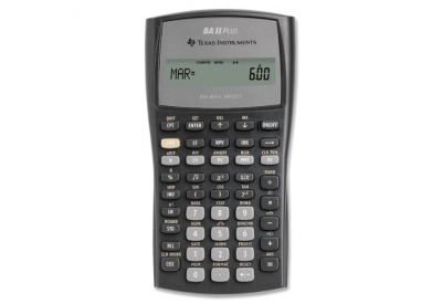Texas Instruments - BA-II-PLUS - Calculators