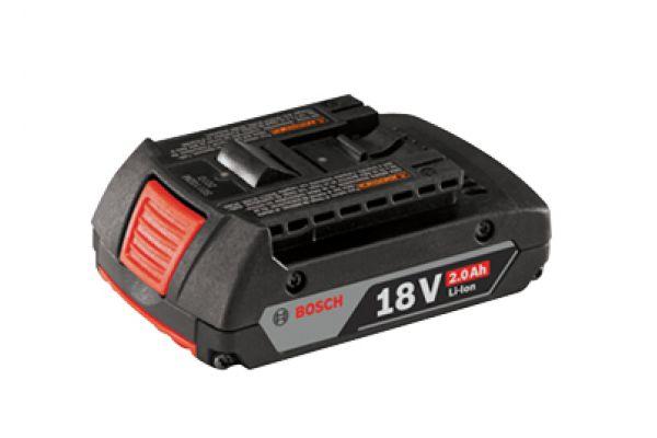 Large image of Bosch Tools 18V Li-Ion Slim Pack Battery - BAT612