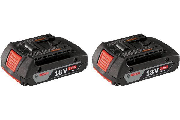 Large image of Bosch Tools Slim Pack Battery - BAT612-2PK