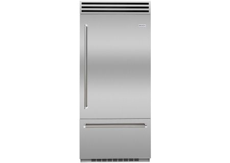 "BlueStar 36"" Built-In Stainless Steel Right Hinge Refrigerator - BBB36SSR2"
