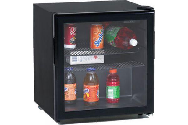 Avanti Black Beverage Cooler With Glass Door - BCA196BG