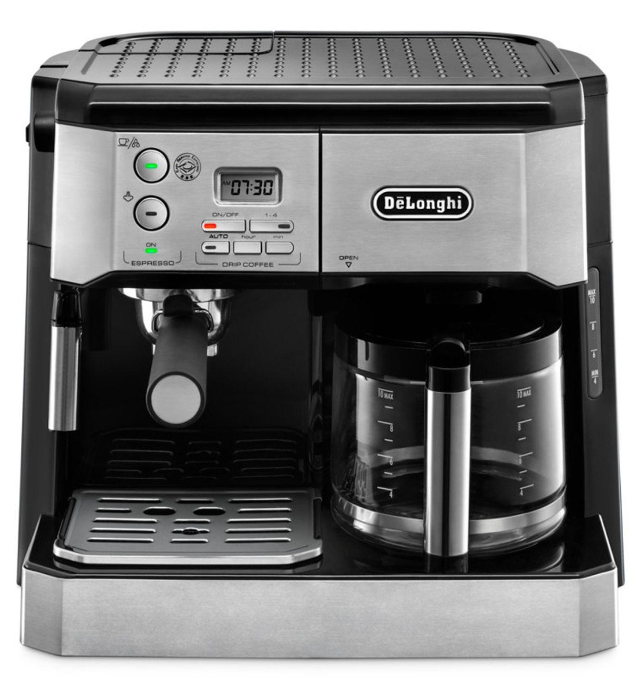 delonghi combination espresso drip coffee maker bco430. Black Bedroom Furniture Sets. Home Design Ideas