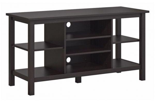 "Large image of Bush Furniture Espresso Oak 55"" Broadview TV Stand - BDV148EO-03"