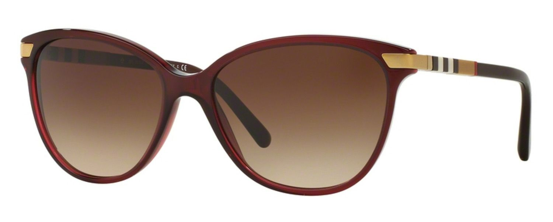 a8e05588a922 Burberry Cat Eye Bordeaux Womens Sunglasses - BE4216 301413