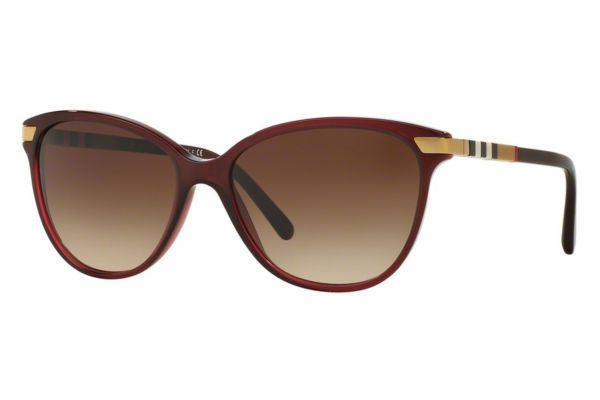Burberry Cat Eye Bordeaux Womens Sunglasses - BE4216 301413