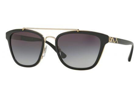 Burberry Square Frame Black Womens Sunglasses - BE4240 30018G