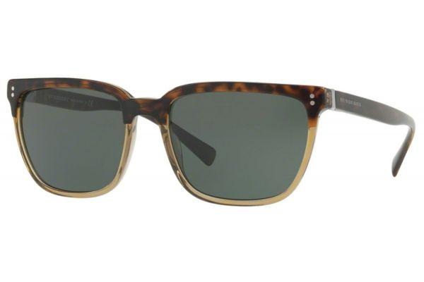 Burberry Square Top Havana On Grey Mens Sunglasses - 0BE4255 36605U 56