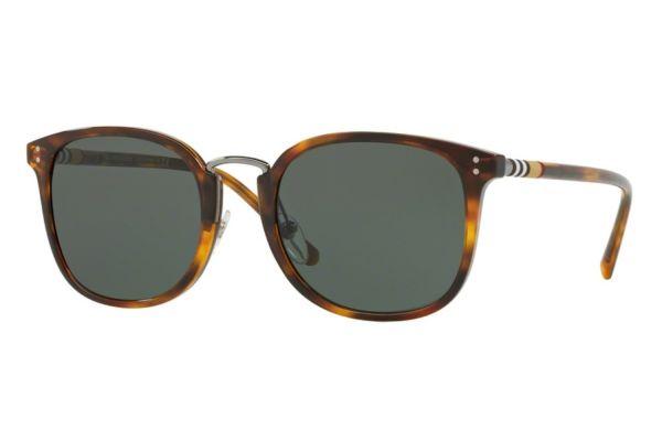 Burberry Square Shape Brown Havana Mens Sunglasses - BE4266 37165U 53