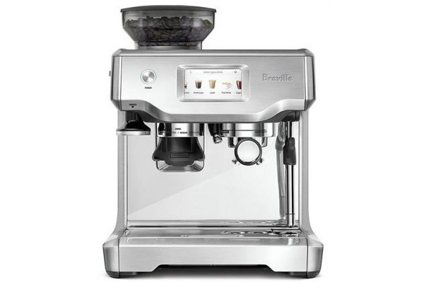 Large image of Breville Stainless Steel The Barista Touch Espresso Machine - BES880BSS1