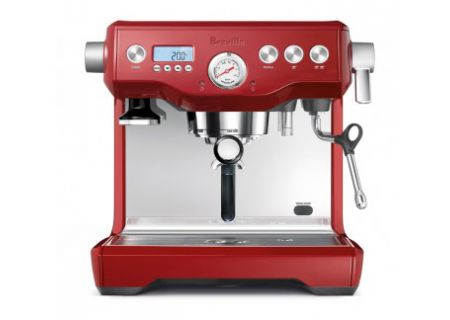 Breville The Dual Boiler Cranberry Red Espresso Maker  - BES920CBXL