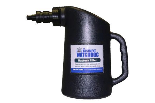 Large image of Basement Watchdog Black Battery Fill Bottle - BFB