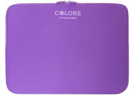 "Tucano Colore Second Skin 11.6""-12.5"" Purple Laptop Sleeve - BFC1112-PP"