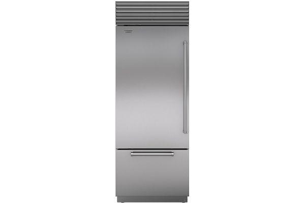 "Sub-Zero 30"" Stainless Steel Built-in Bottom-Freezer Refrigerator - BI-30U/S/PH-LH"