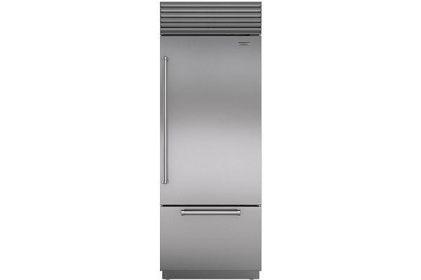 "Sub-Zero 30"" Stainless Steel Built-in Bottom-Freezer Refrigerator - BI-30U/S/PH-RH"