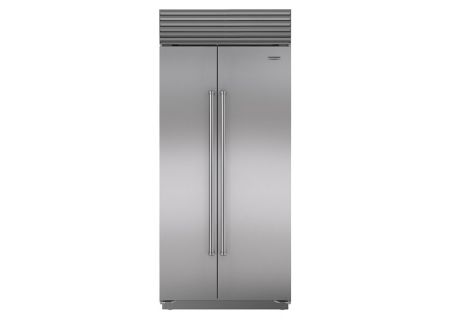 "Sub-Zero 36"" Stainless Steel Built-In Side-By-Side Refrigerator - BI-36S/S/PH"