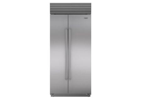 Sub-Zero - BI-36S/S/PH - Built-In Side-by-Side Refrigerators