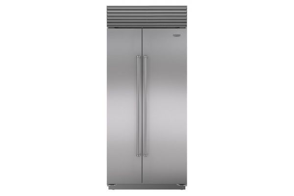 """Sub-Zero 36"""" Stainless Steel Built-In Side-By-Side Refrigerator - BI-36S/S/PH"""