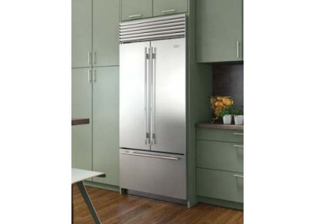 "Sub-Zero 36"" Built-In Stainless Steel French Door Refrigerator  - BI-36UFDIDS/TH"