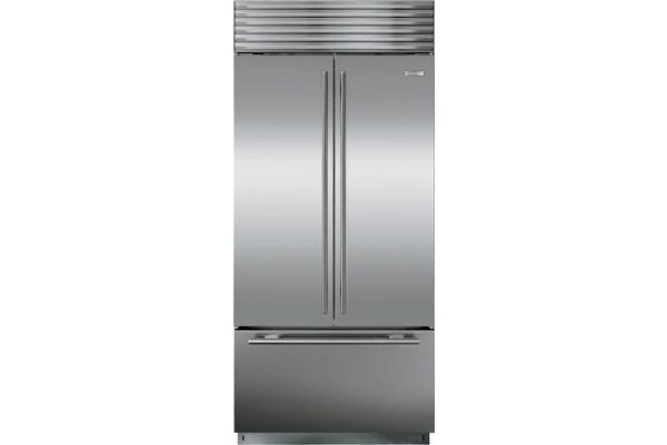 "Sub-Zero 36"" Stainless Steel French Door Refrigerator - BI-36UFD/S/TH"