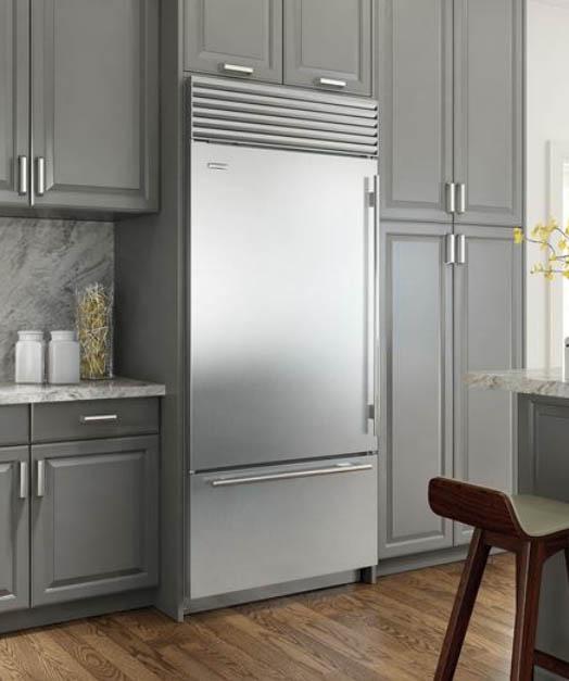 Sub Zero Bottom Freezer Refrigerator Bi36uidsthlh