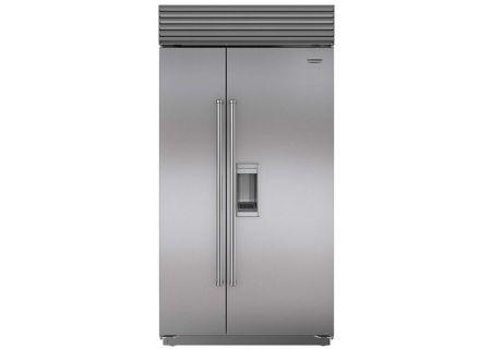Sub-Zero - BI-42SD/S/PH - Built-In Side-by-Side Refrigerators