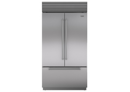 "Sub-Zero 42"" Built-In Stainless Steel French Door Refrigerator  - BI42UFDIDSPH"