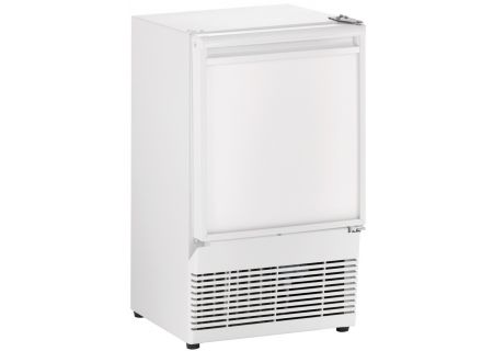 "U-Line 14"" White Crescent Ice Maker  - U-BI95W-00A"