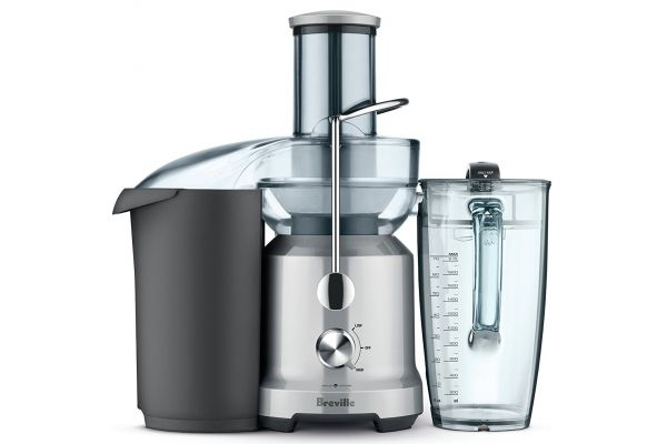 Breville Silver 70 oz. The Juice Fountain Cold - BJE430SILUSC