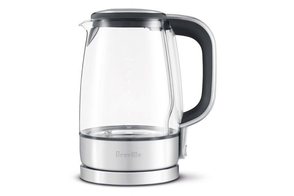 Large image of Breville The Crystal Clear Glass Electric Kettle - BKE595XL