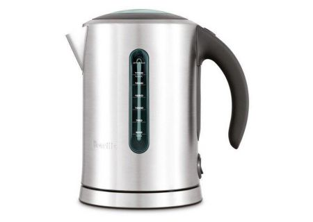 Breville The Soft Top Pure Electric Kettle - BKE700BSSUSC