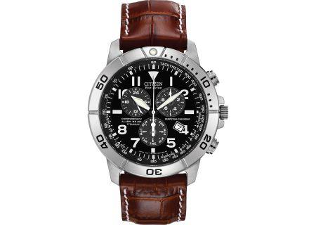 Citizen Eco-Drive Titanium Perpetual Calendar Chronograph Mens Watch - BL5250-02L