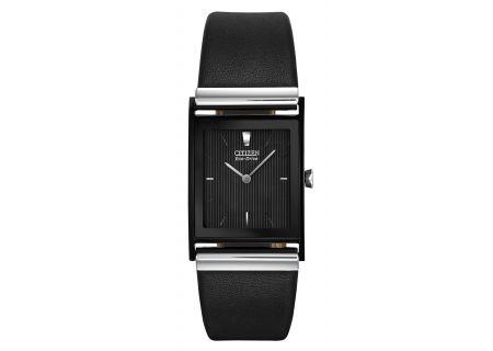 Citizen Eco-Drive Black Dial Mens Watch - BL6005-01E
