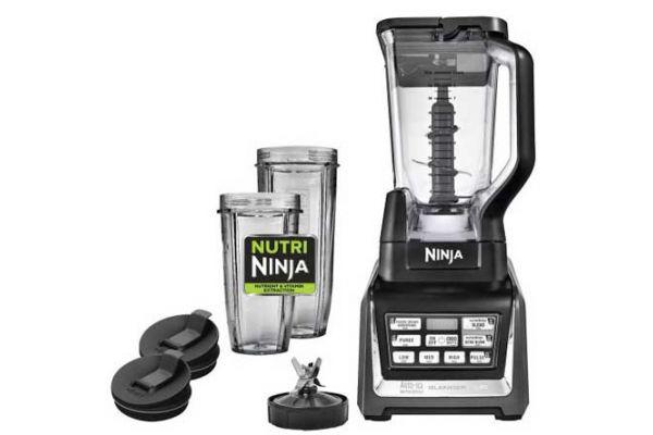 Ninja Nutri Ninja Black Blender Duo With Auto iQ  - BL641