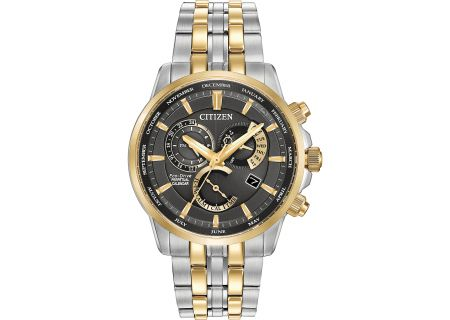 Citizen Eco-Drive Two-Tone Stainless Steel Calibre 8700 Mens Watch - BL8144-54H